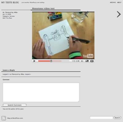 monotone video