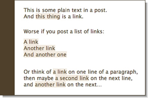 Links in Rounded