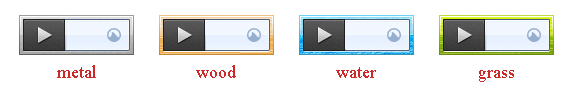 Grooveshark Player Skins